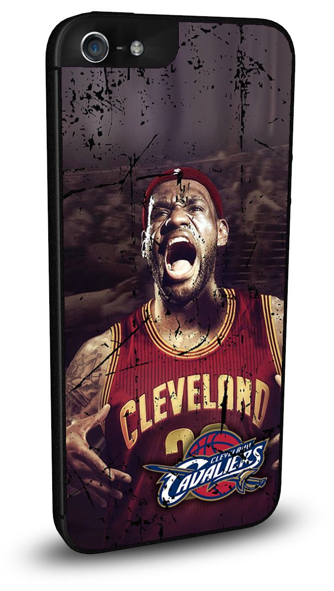 Cleveland Cavaliers Cell Phone Hard Case for iPhone 6, iPhone 6 Plus, iPhone 5/5s, iPhone SE, iPhone 4/4s or iPhone 5c