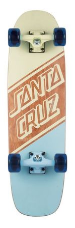 Check out the deal on 8.4in x 29.4in  Blockout Santa Cruz Cruiser Skateboard at NHS Fun Factory