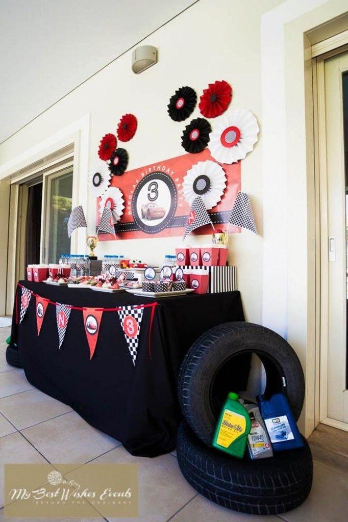 Disney+Cars+Birthday+Ideas   Party Ideas   Kara'sPartyIdeas.com #Disney #Movie…
