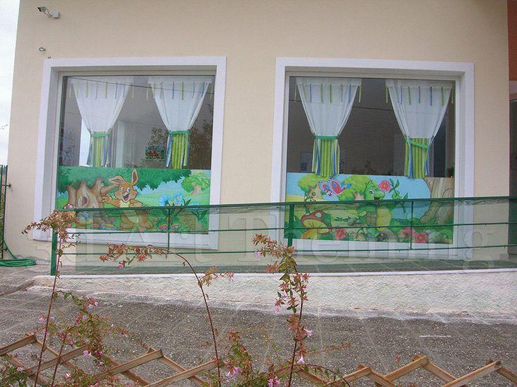 ζωγραφική σε παιδικό σταθμό