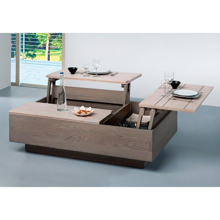 Best 25 table basse relevable ideas on pinterest table basse modulable ta - Table basse plateau relevable conforama ...