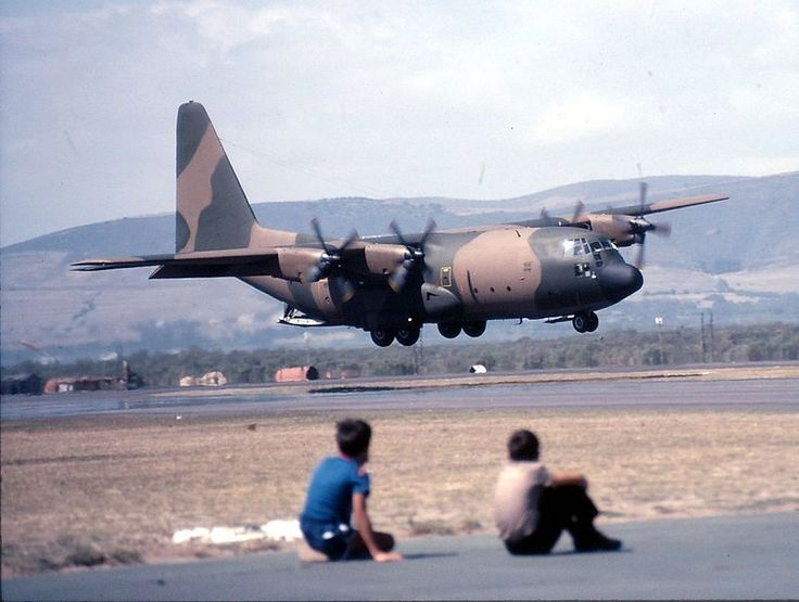 South African Air Force C130 Hercules