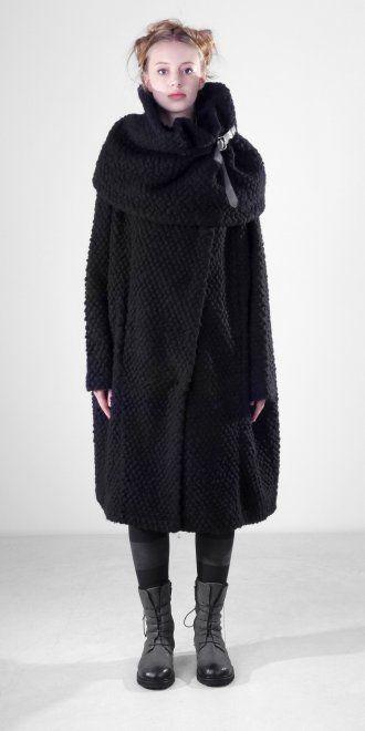 Rundholz Black Oversized Coat - Rundholz from idaretobe.com UK