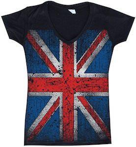 Union Jack Flag T-Shirt.