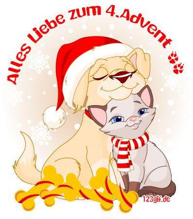 4.Advent Bild 4.advent-0008.gif kostenlos auf deiner Homepage einbinden oder als Grußskarte versenden | 123gif.de