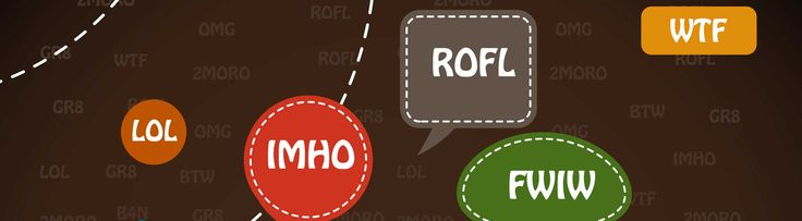 Popular/ trending slang words and abbreviations