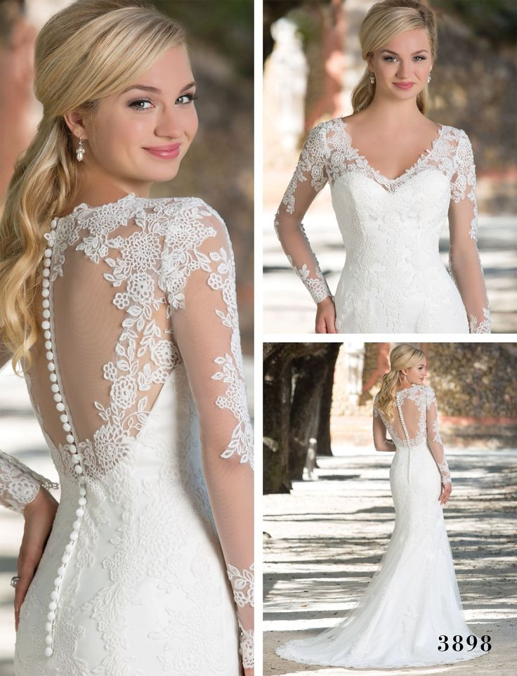 Sincerity Bridal's Wedding Dress (Style 3898) - Twilight Wedding Dress – Get the Look - EverAfterGuide
