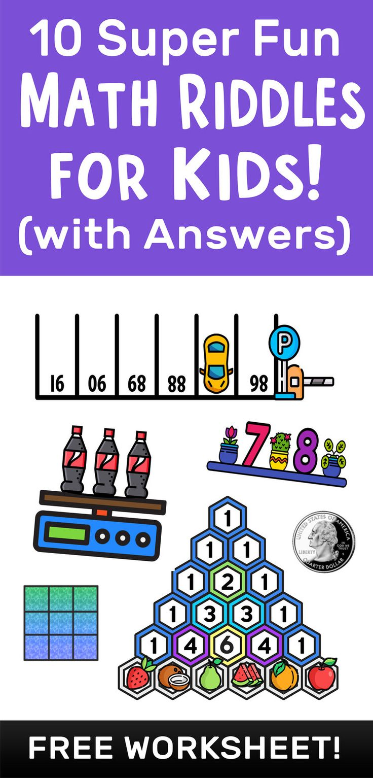 10 Super Fun Math Riddles for Kids Ages 10+ (with Answers