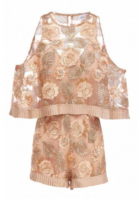 Alice McCALL - Ballet Soft Pink Diggin On You Playsuit Romper