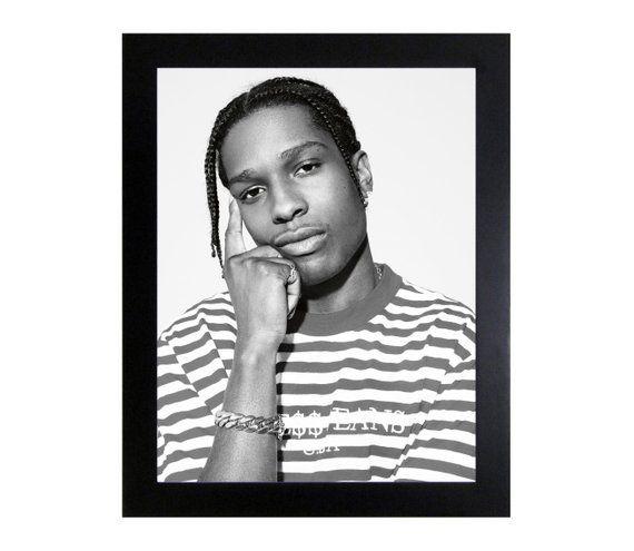 Guess x ASAP Rocky Throwback Hip Hop Poster or Art Print