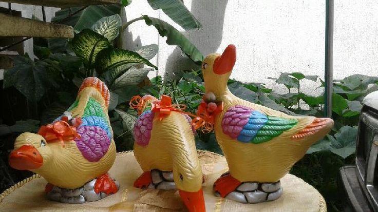 Resultado de imagen para patos chismosos pintados en ceramica