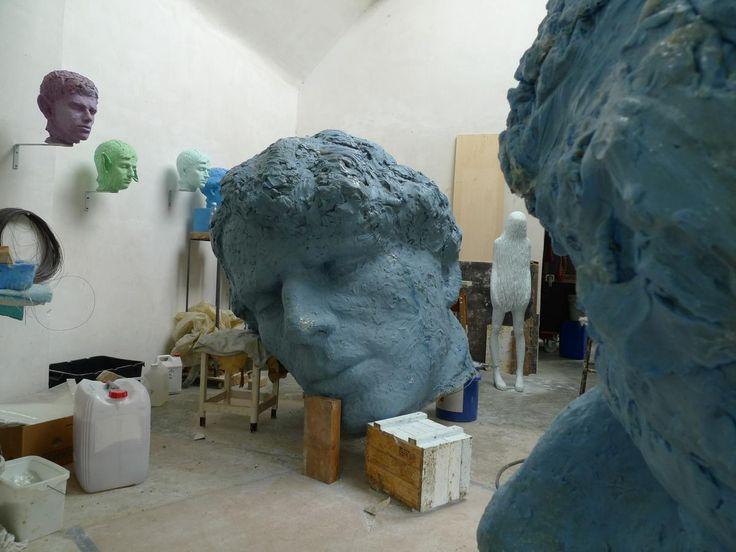 atelier van kunstenares Maen Florin