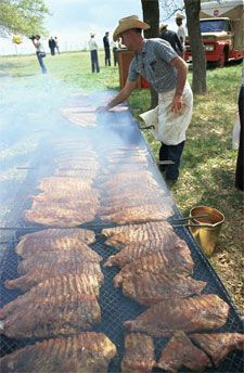 Barbecue Diplomacy at LBJ's Texas White House | Welcome To TEXAS My ...