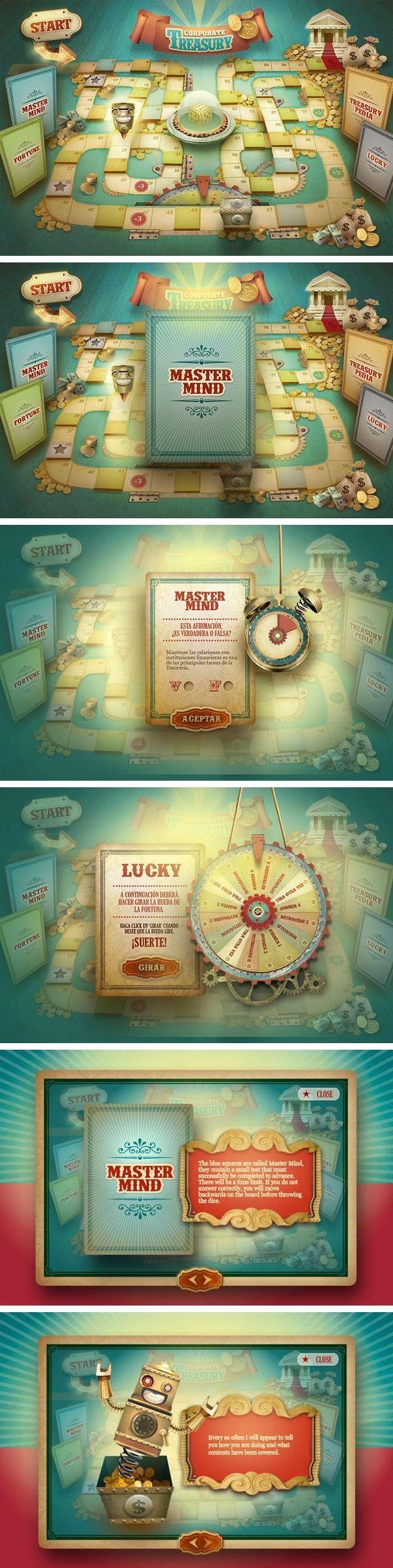 ...   Web - Game UI/UX Design