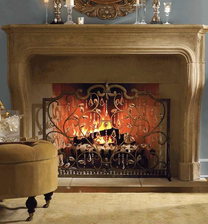 This New Year 39 S Eve Make Your Living Room Sparkle With An Elegant Fireplace Screen That 39 S