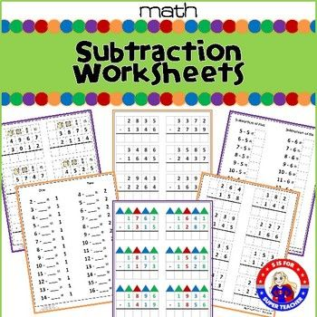 The 25+ best Subtraction worksheets ideas on Pinterest - subtraction frenzy worksheets