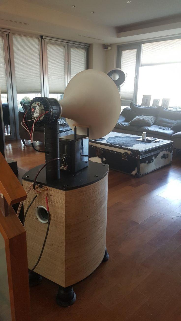 Unit mid -high BMS coaxial 4592 Super tweet Aurum cantus Woofer 15 inch PA unit Horn stere...
