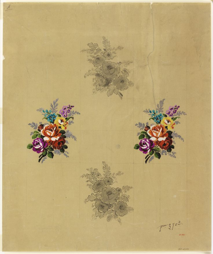 Drawing, Design for Woven Textile, 1919