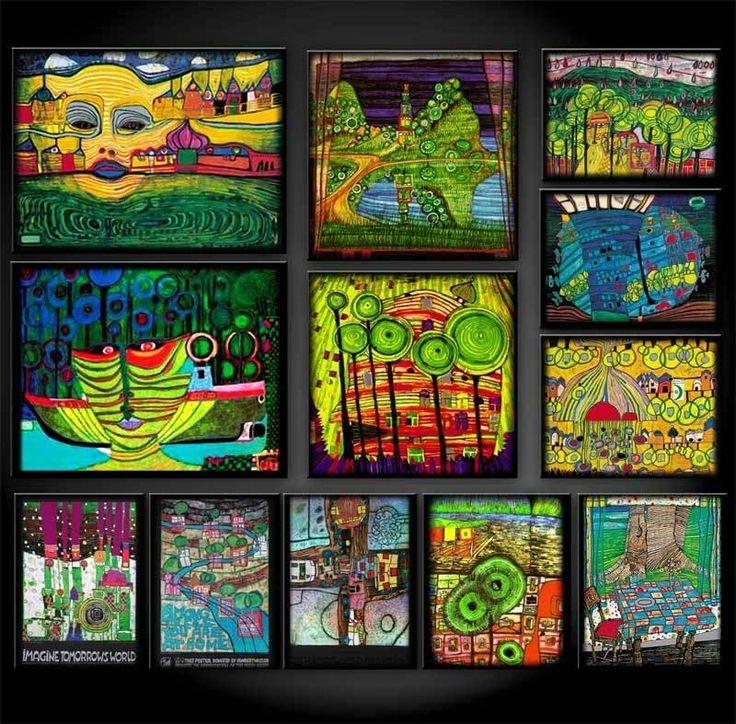 The Colourful Artist-Architect: Friedensreich Hundertwasser (1928-2000)