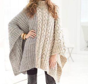 Poncho Knitting Pattern Will Warm You Up