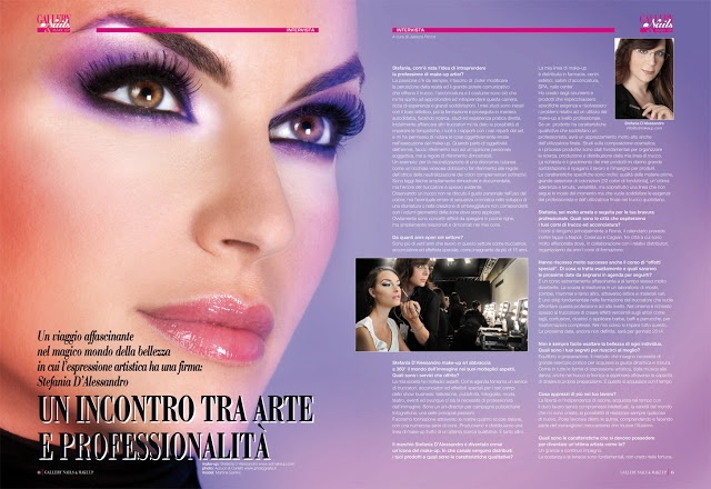 Interview with Stefania D'Alessandro on GALLERY NAILS-BEAUTY-MAKE UP  Intervista a Stefania D'Alessandro by Jessica Piccoli
