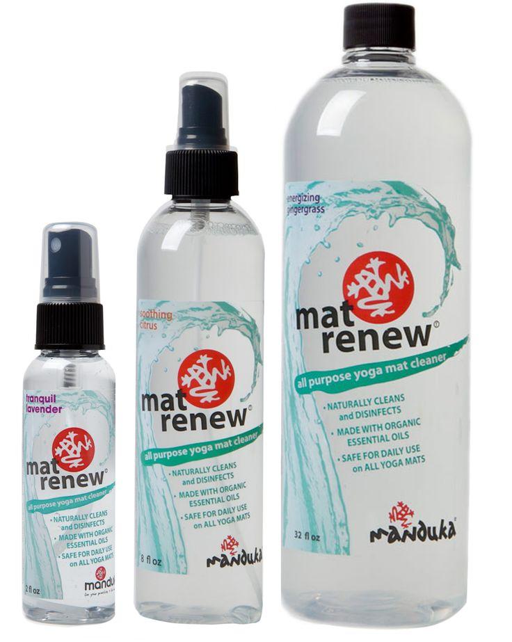 EMP Industrial - Manduka Mat Renew® - ALL PURPOSE MAT CLEANSER FOR HIGH PERFORMANCE YOGA MATS