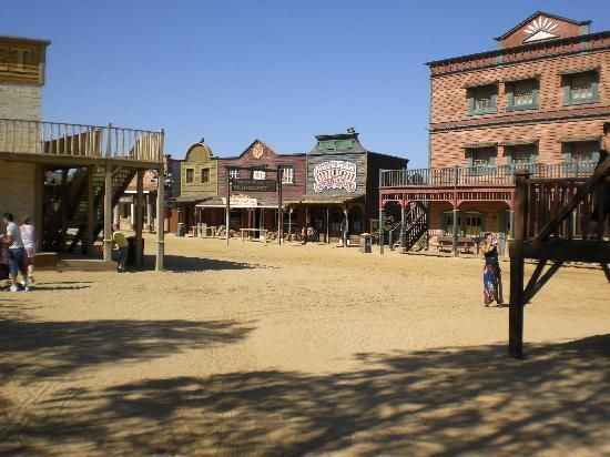 Old Western Town built under instructions of Sergio Leone