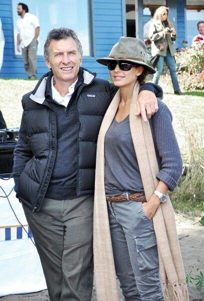 Presidente de la Nación Argentina Mauricio Macri y La Bella Dama Juliana Awada