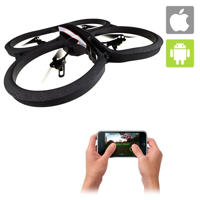 Parrot AR Drone 2.0, i want one of these! You can fly them from any apple or android device!