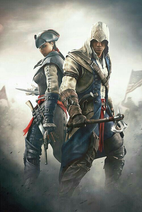 Assassin's Creed III: Liberation / Aveline de Grandpré and Connor Kenway!