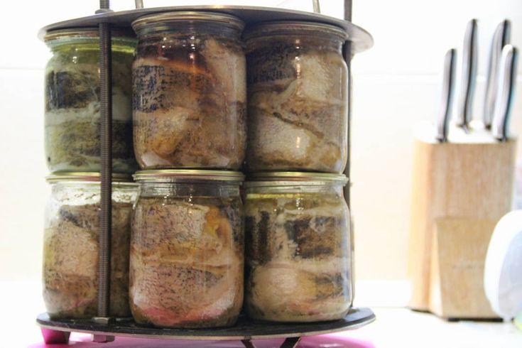 Рыбные консервы в домашних условиях. Приготовление рыбных консервов в ав...