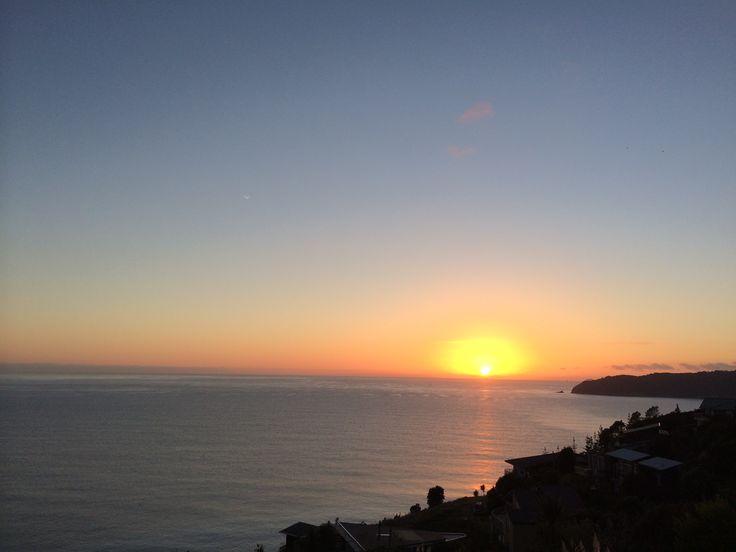 Beach House, Sunrise 7.15 am,