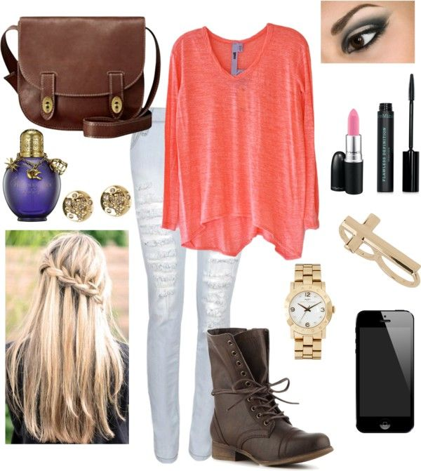 """school outfit"" by eleanorcalderperfection ❤ liked on Polyvore"