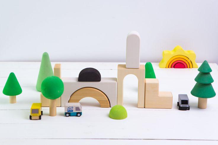 Деревянный конструктор - одна из самых многофункциональных игрушек!