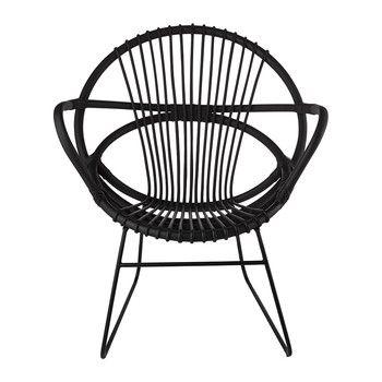 Singapore Open Chair - Black