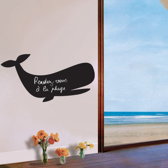 Giant Animal Chalkboard Wall Stickers :)