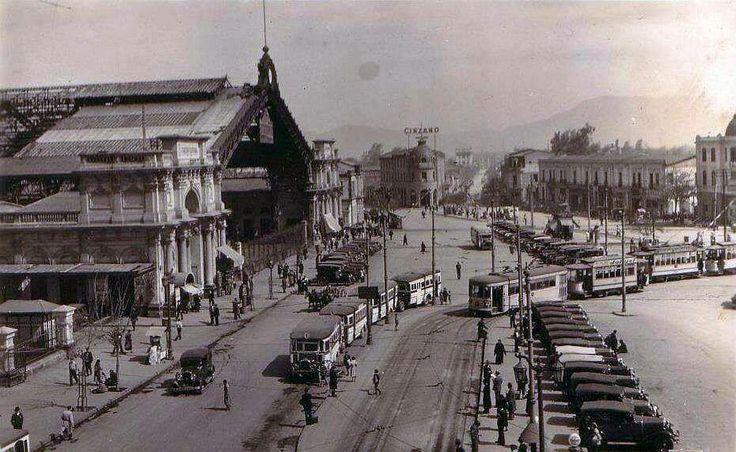 Estación Central en el año 1930.