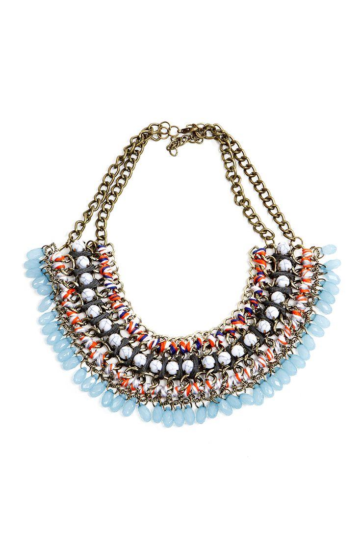 Festival Multi Stone Necklace