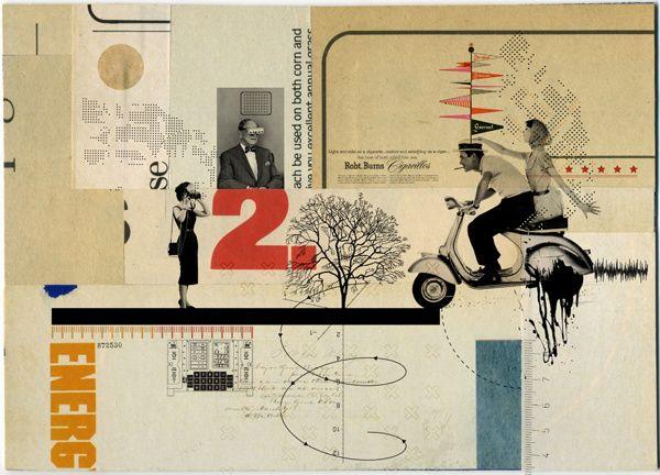 Collages de Kacper Kiec