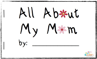 This book is so cute! The moms in my class are going to laugh so hard when they see what their kids think they really like and do. FREE download.