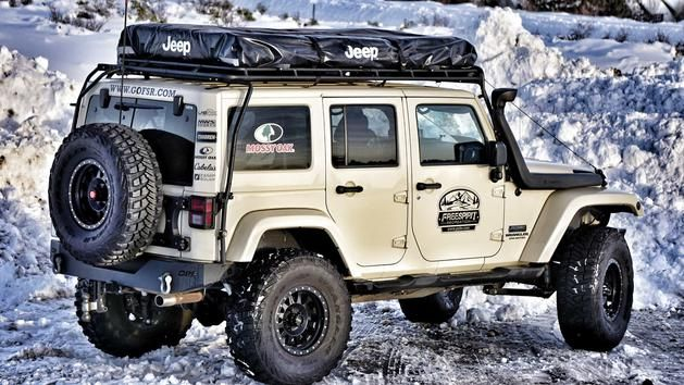 jeep roof top tent & Freespirit Recreation: Adventure Series M49 Jeep Edition Roof Top ...