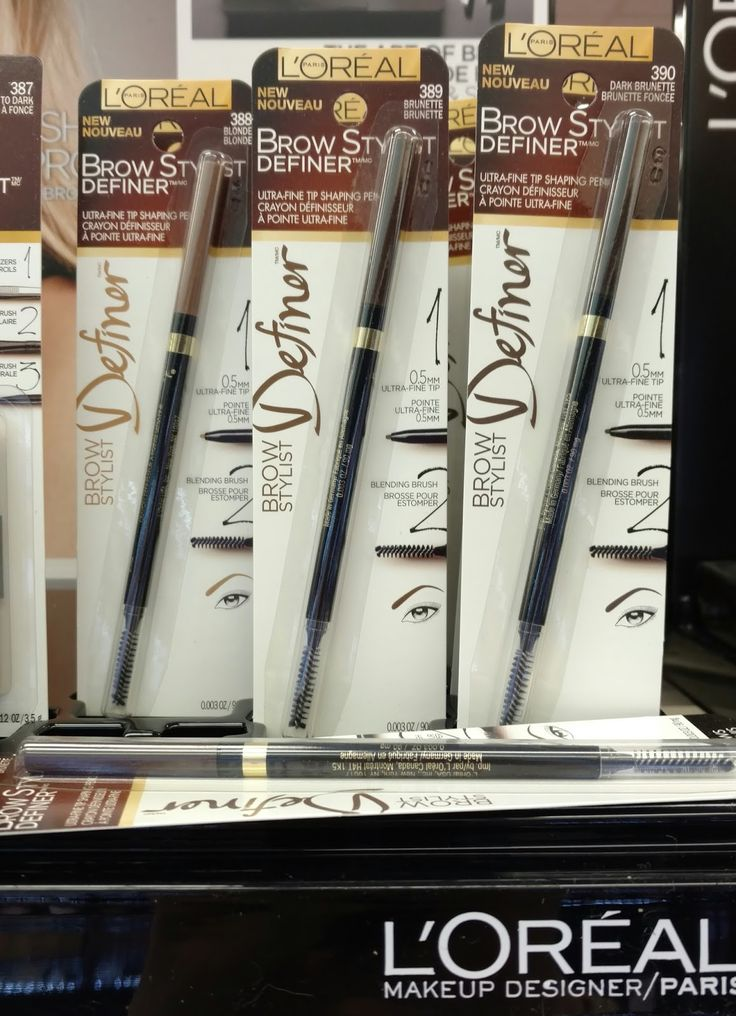 The Budget Beauty Blog: L'Oreal Brow Stylist Definer- Anastasia Brow Wiz Dupe!