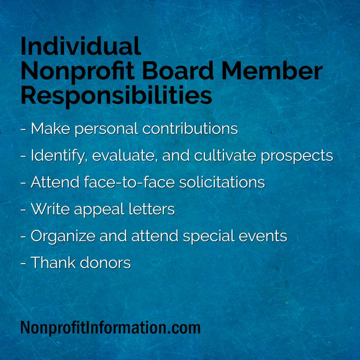 Nonprofits need to have an excellent board nonprofit