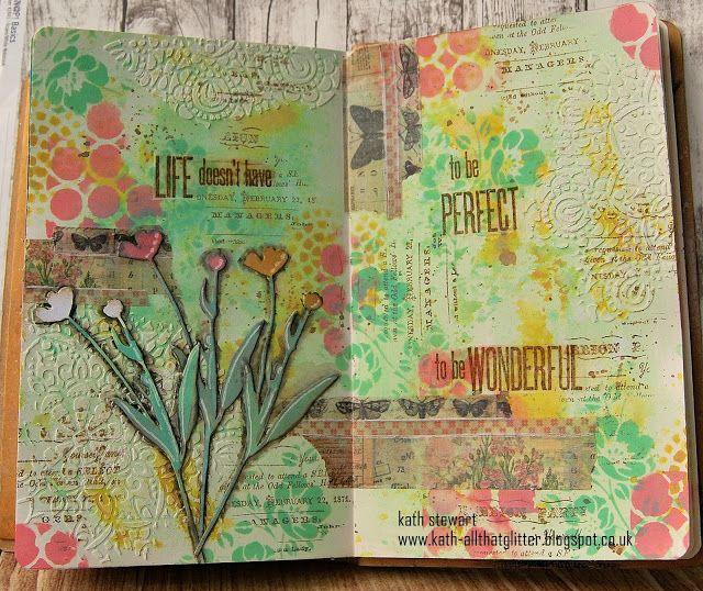 Kath's Blog......diary of the everyday life of a crafter: Simon Says...Stencil It