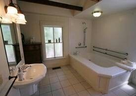 One of many bathrooms.