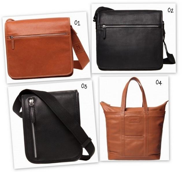 The basic Marimekko bag looks pretty cool in leather..