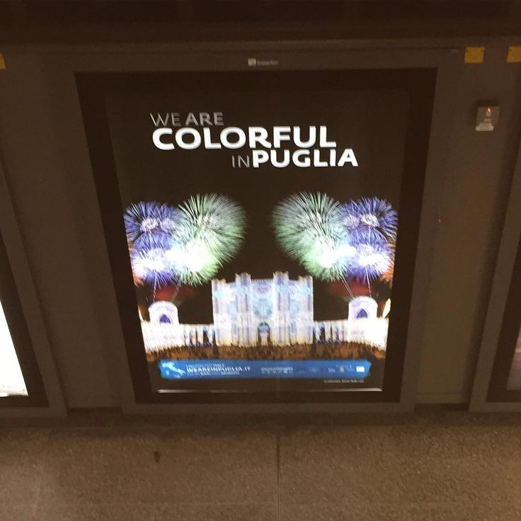 """and then you see this in the London's underground #puglia #southitaly"" Pinned via Instagram #WeAreinPuglia"