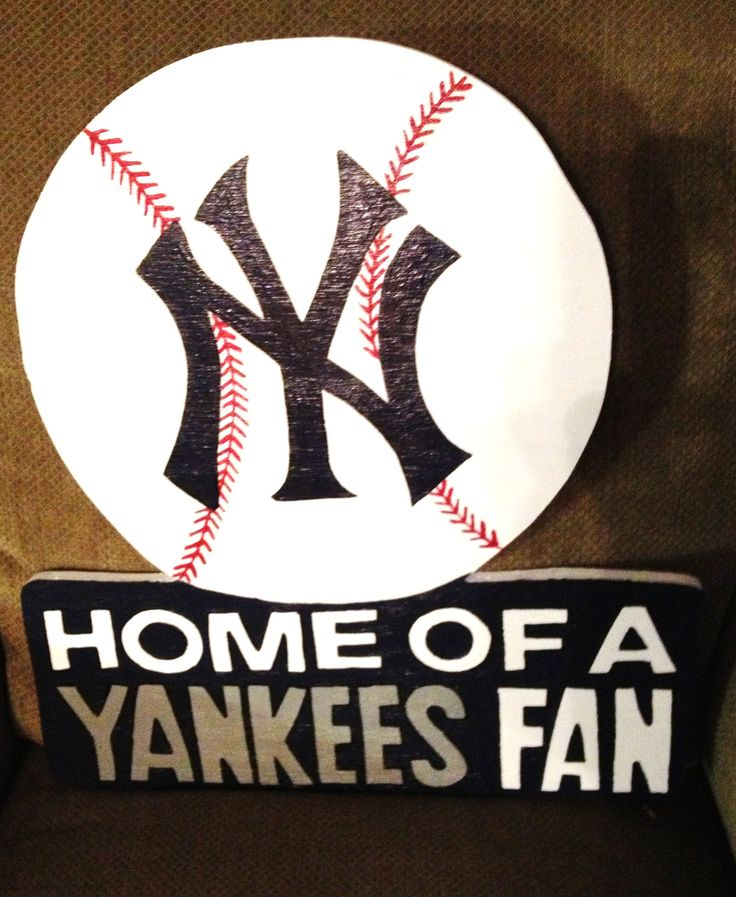 Letters In Latex%0A Yankees Customer Handcrafted wooden sport signs made from       exterior  plywood  sealed  primed and painted with outside latex paint so it doesn u    t  weather