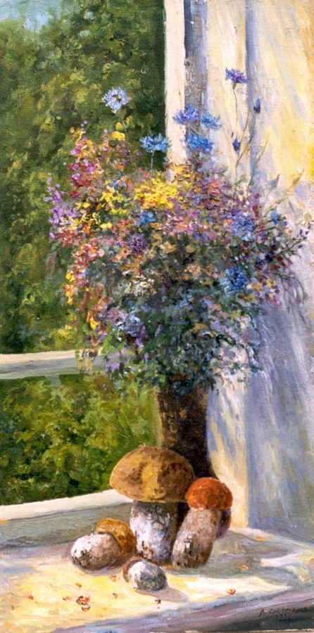 Христанов Виктор. Цветы и грибы