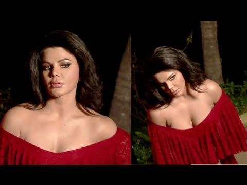 OMG ! Rakhi Sawant giving NAUGHTY POSES in front of Camera.
